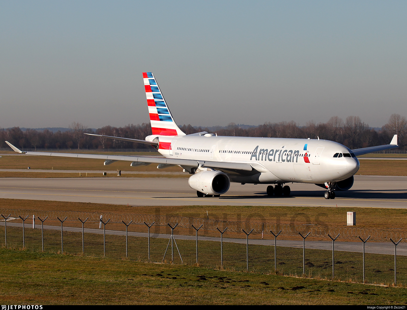 N283AY - Airbus A330-243 - American Airlines