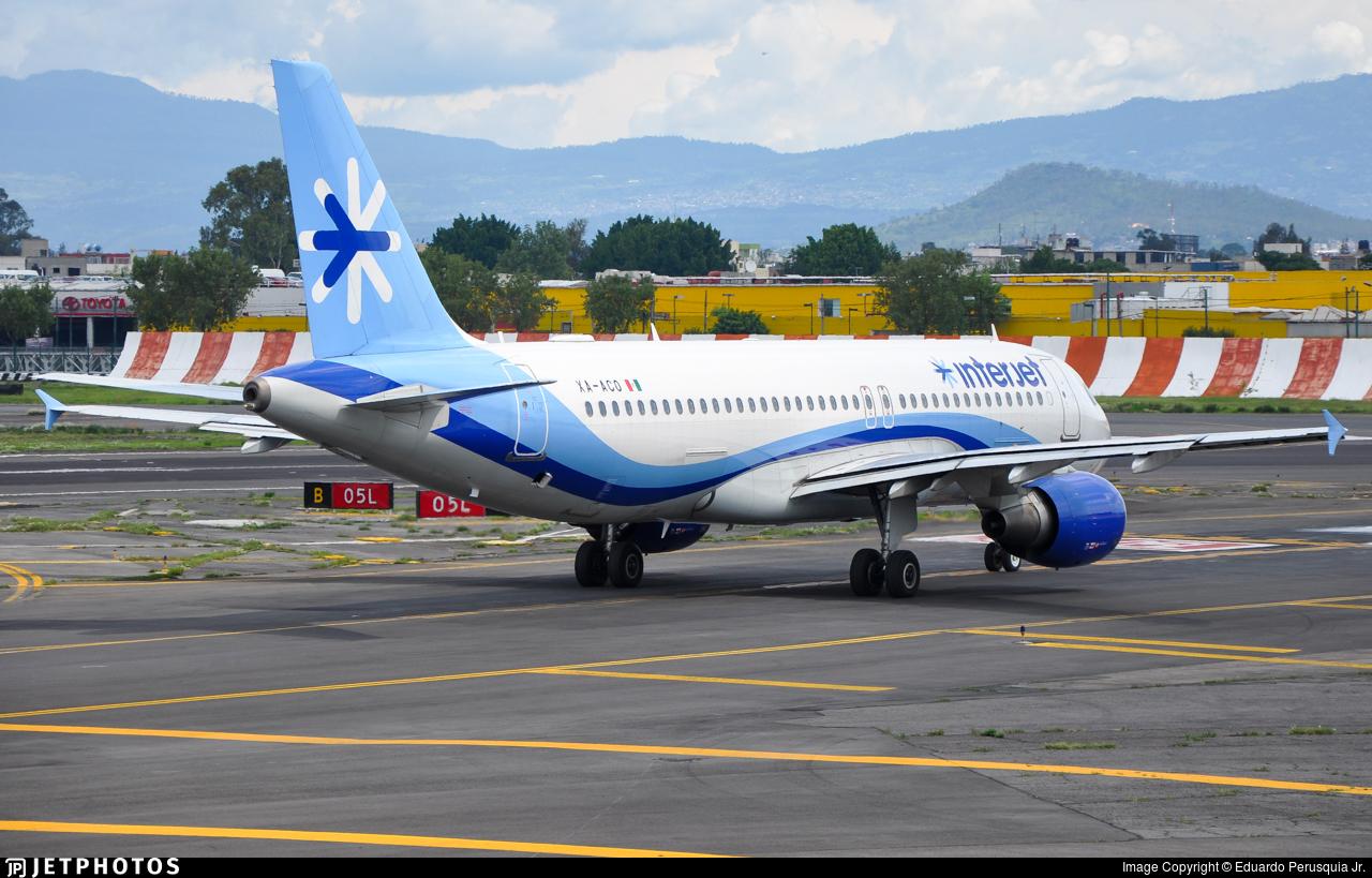 XA-ACO - Airbus A320-214 - Interjet