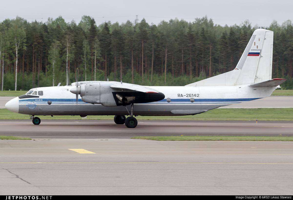 RA-26142 - Antonov An-26B - Pskovavia