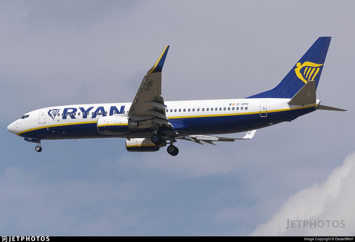 EI-DPH - Boeing 737-8AS - Ryanair