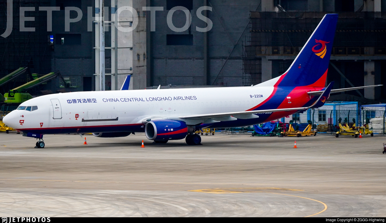 B-220M - Boeing 737-8AS(BCF) - China Central Longhao Airlines