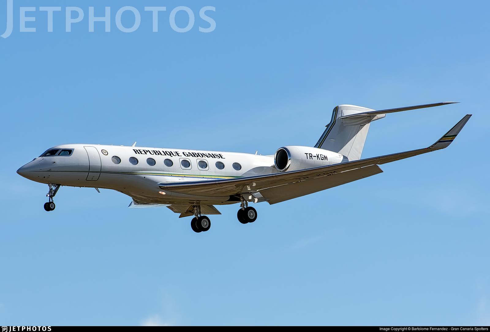 TR-KGM - Gulfstream G650ER - Gabon - Government