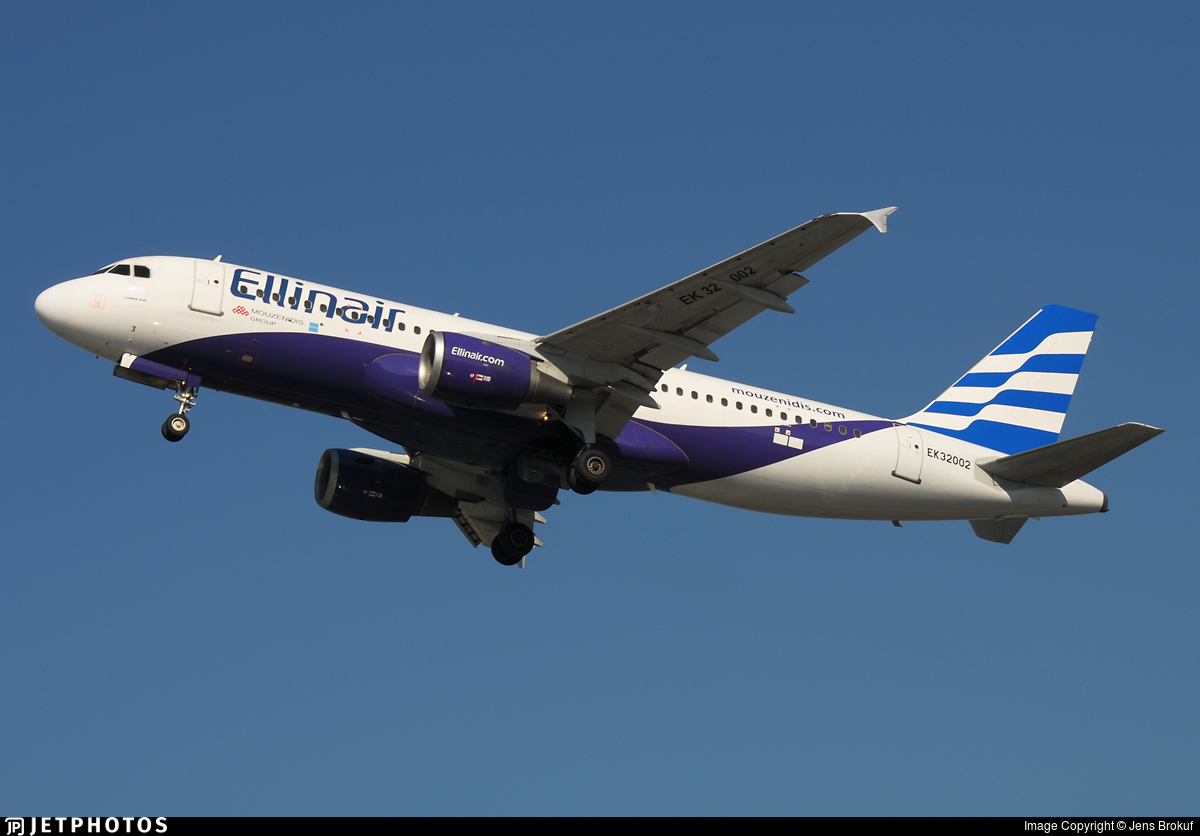 EK32002 - Airbus A320-211 - Ellinair (Atlantis European Airways)