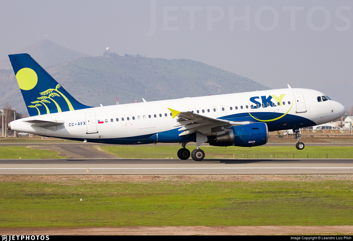 CC-AFX - Airbus A319-111 - Sky Airline