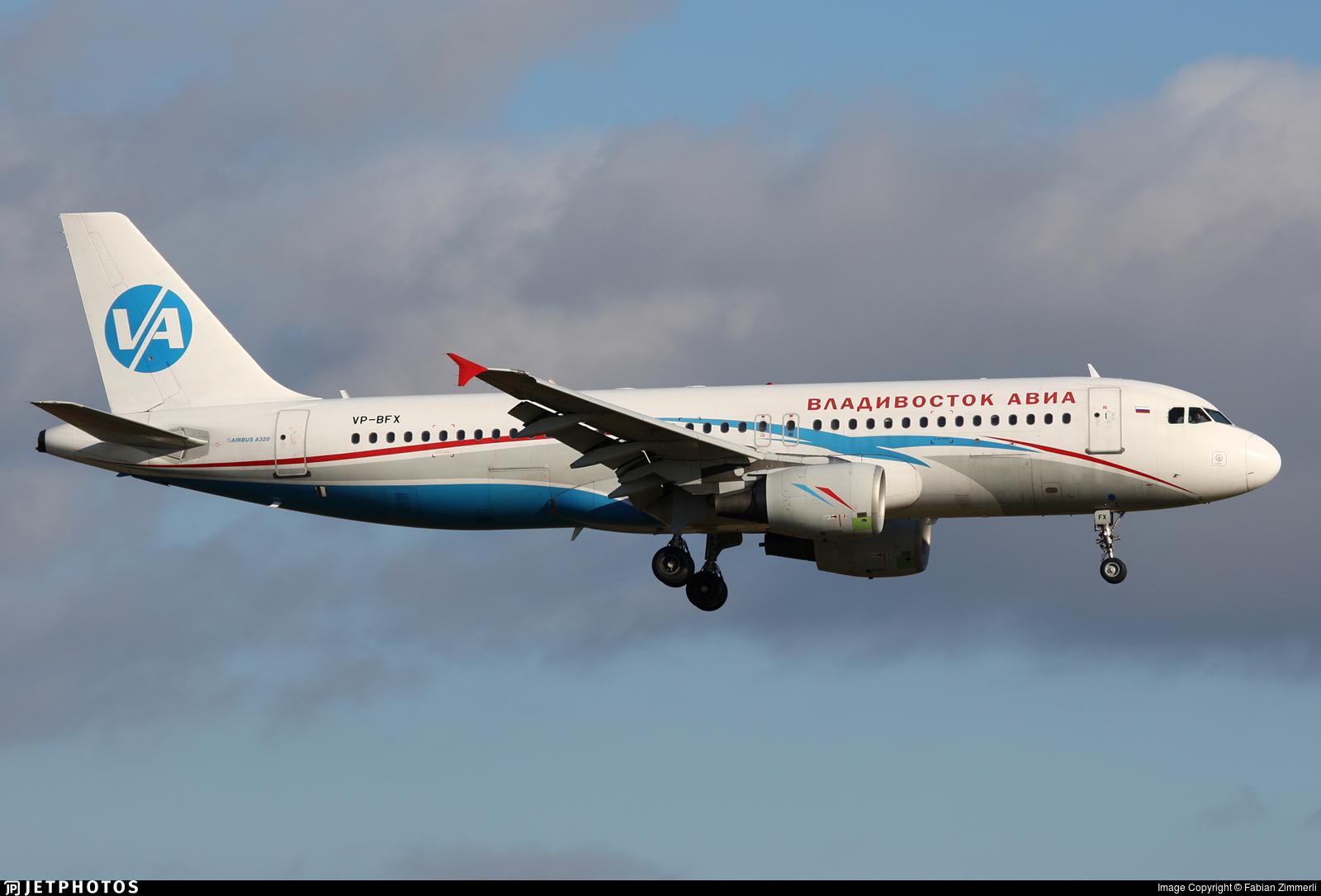 VP-BFX - Airbus A320-214 - Vladivostok Air