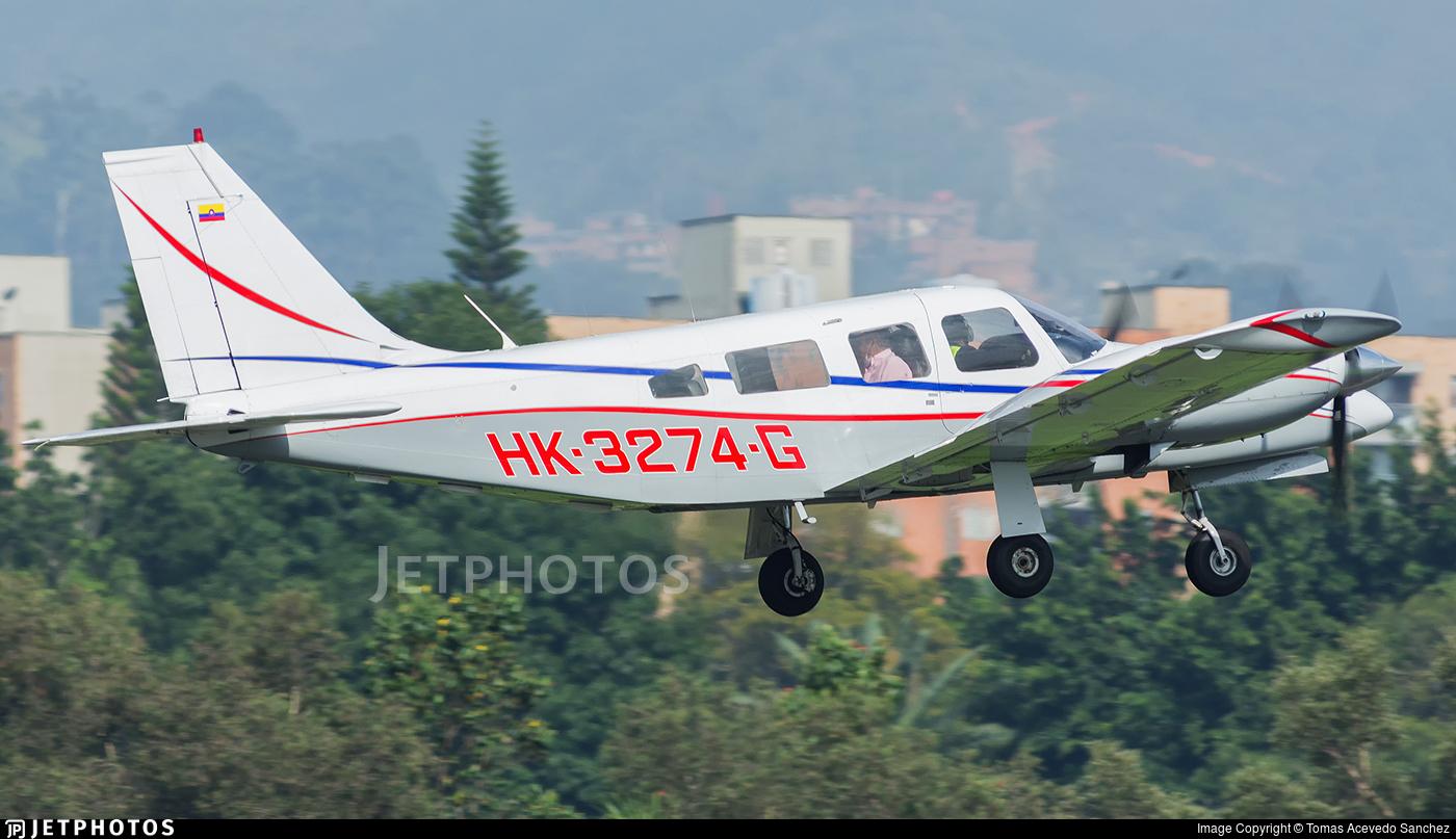 HK-3274-G - Embraer EMB-810C Seneca II - Private