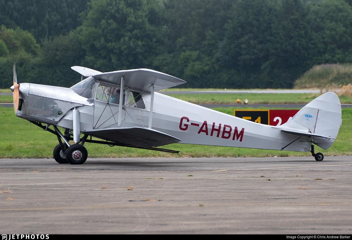 G-AHBM - De Havilland DH-87B Hornet Moth - Private