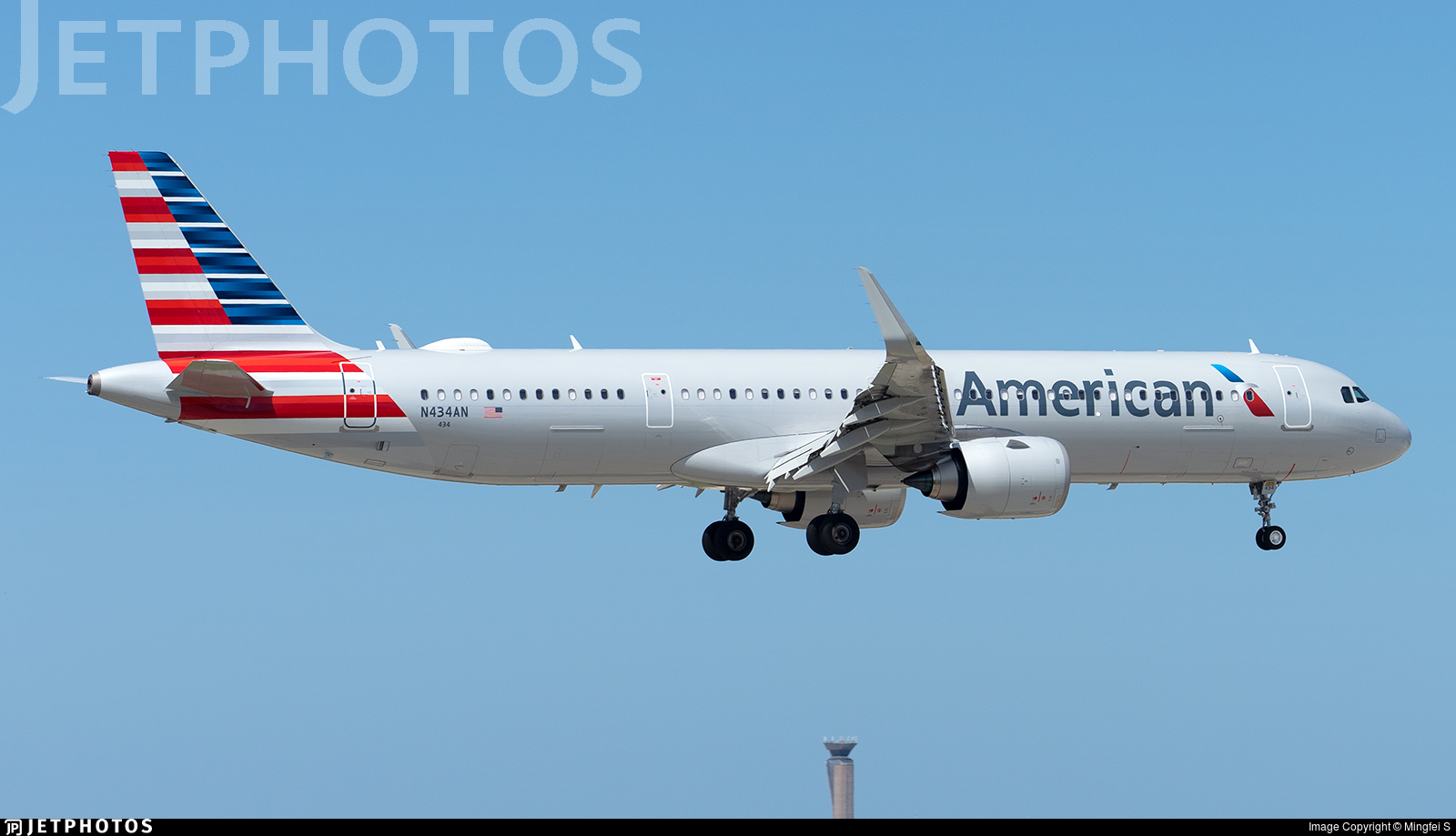 N434AN - Airbus A321-253NX - American Airlines
