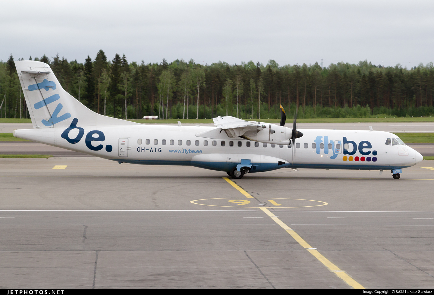 OH-ATG - ATR 72-212A(500) - Flybe Nordic
