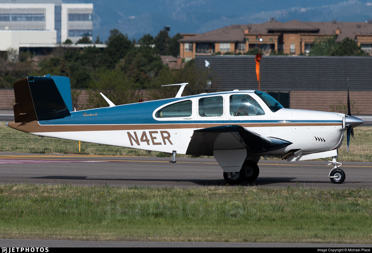 N4ER - Beechcraft P35 Bonanza - Private