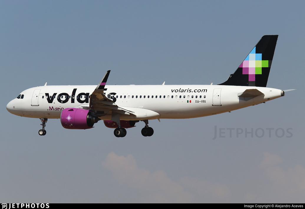 XA-VRI - Airbus A320-271N - Volaris