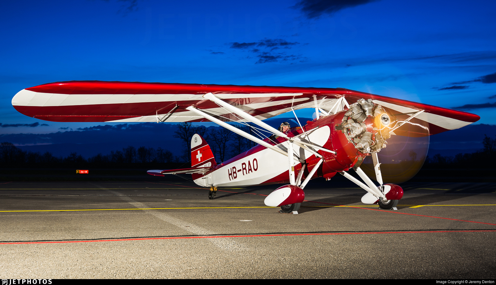 HB-RAO - Morane-Saulnier MS-317 - Private