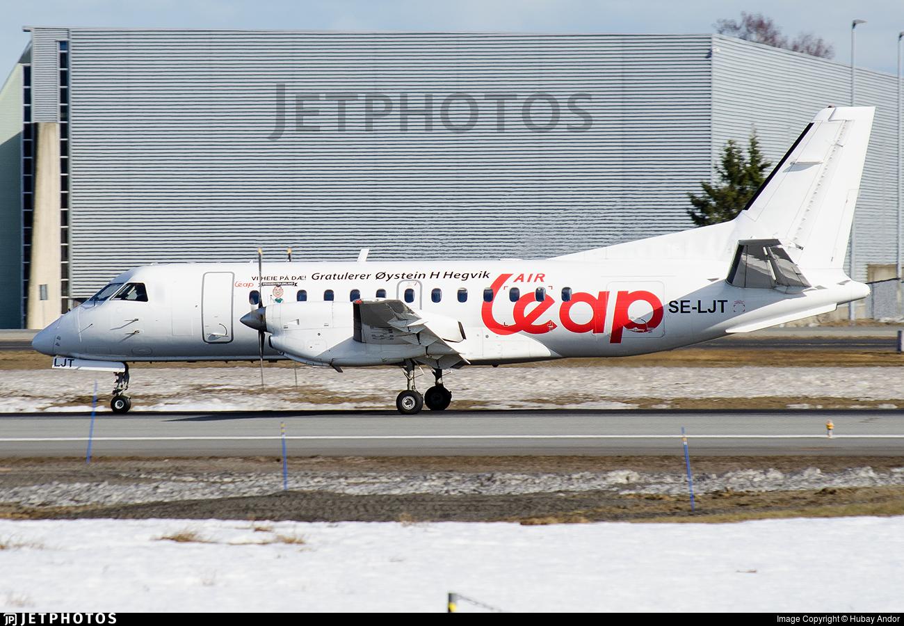 SE-LJT - Saab 340B - Air Leap