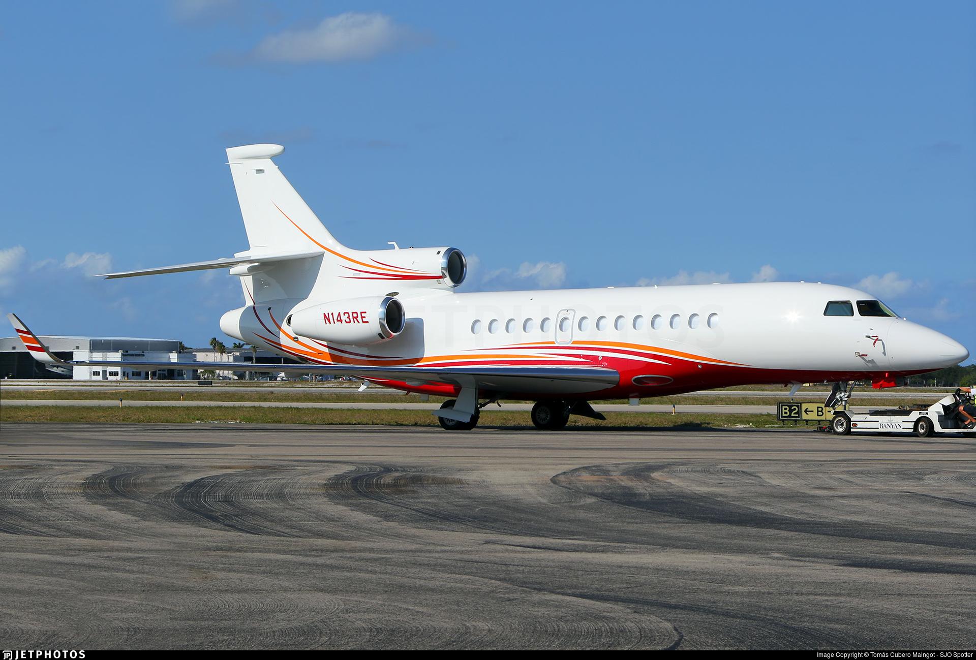N143RE - Dassault Falcon 7X - Private