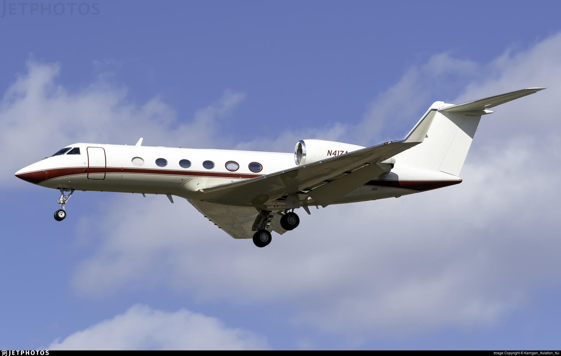 N41ZA - Gulfstream G-IV - Private