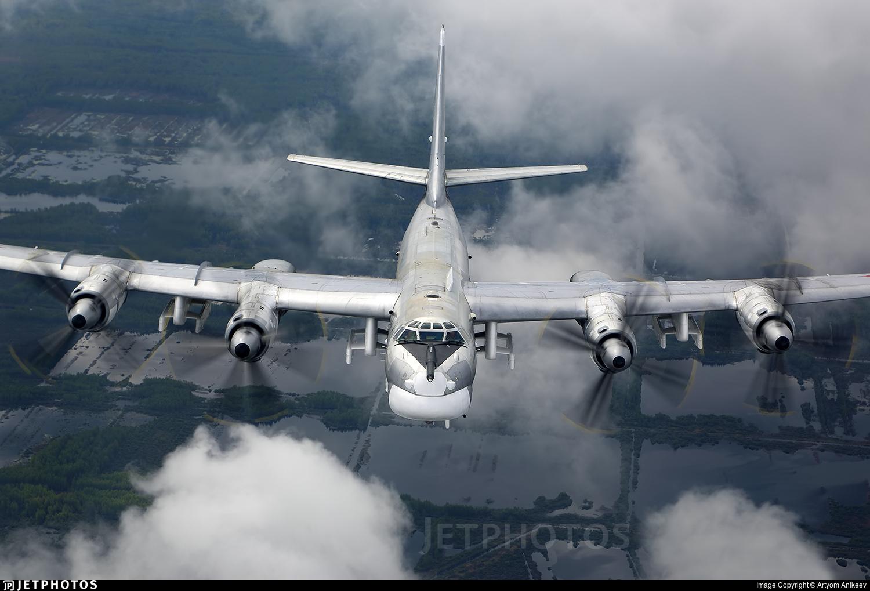 RF-94187 - Tupolev Tu-95MS Bear-H - Russia - Air Force