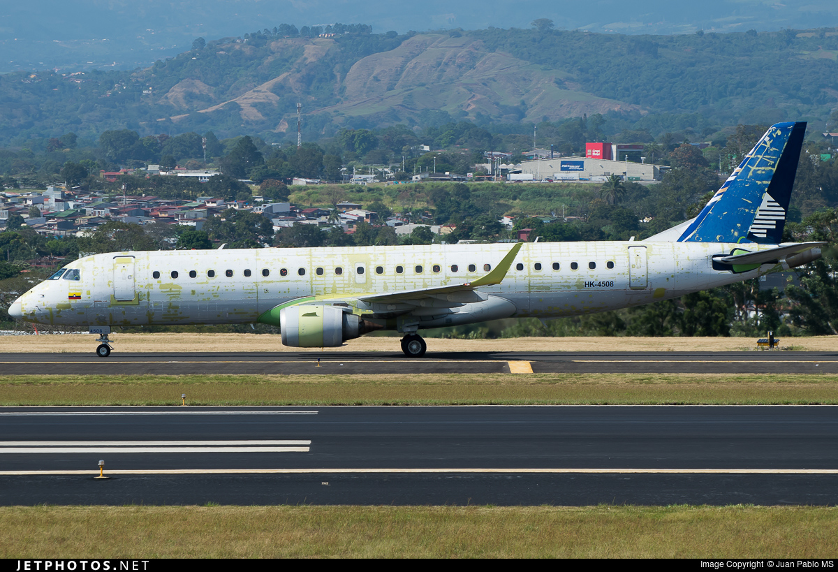 HK-4508 - Embraer 190-100IGW - Copa Airlines Colombia