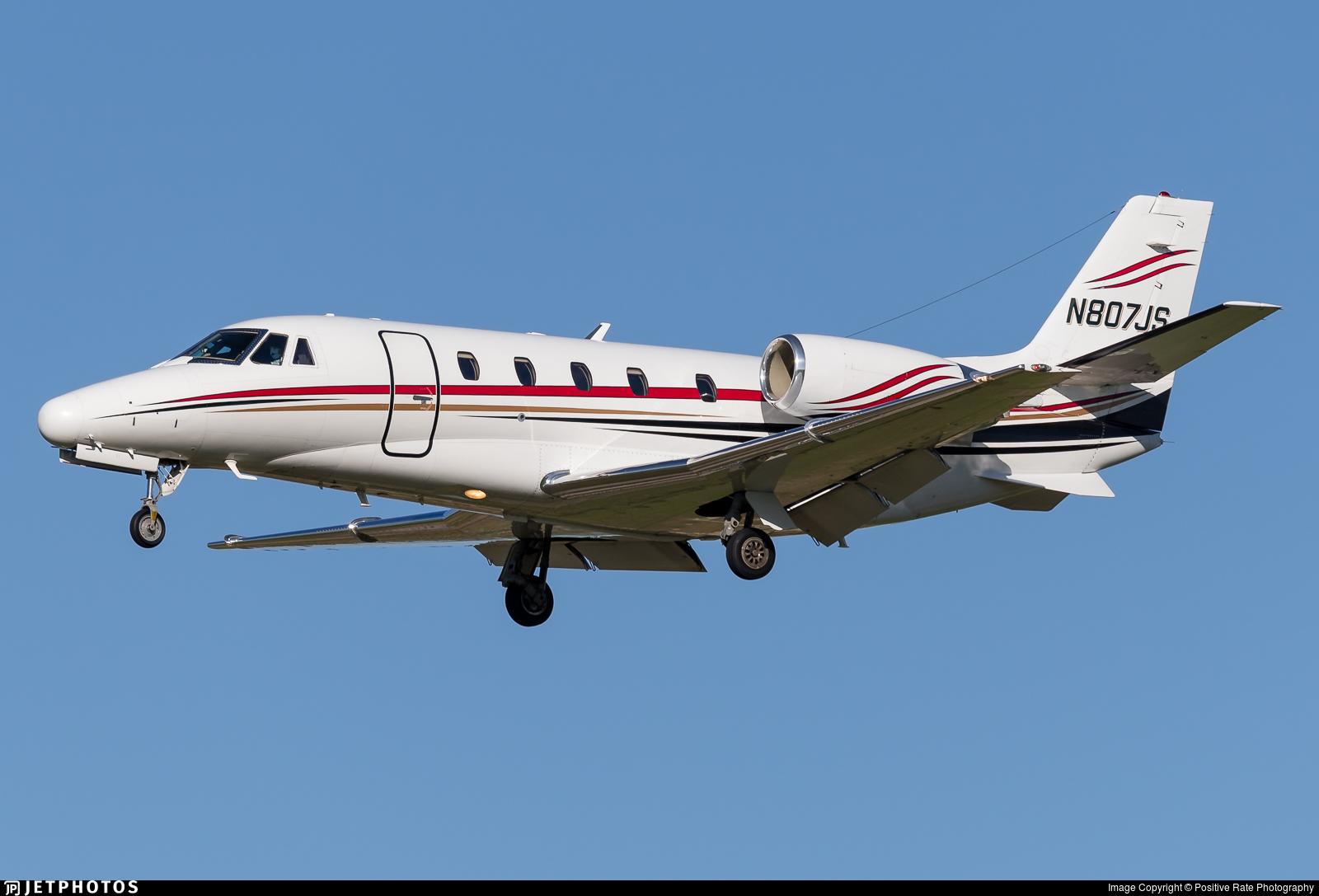 N807JS - Cessna 560XL Citation Excel - Private