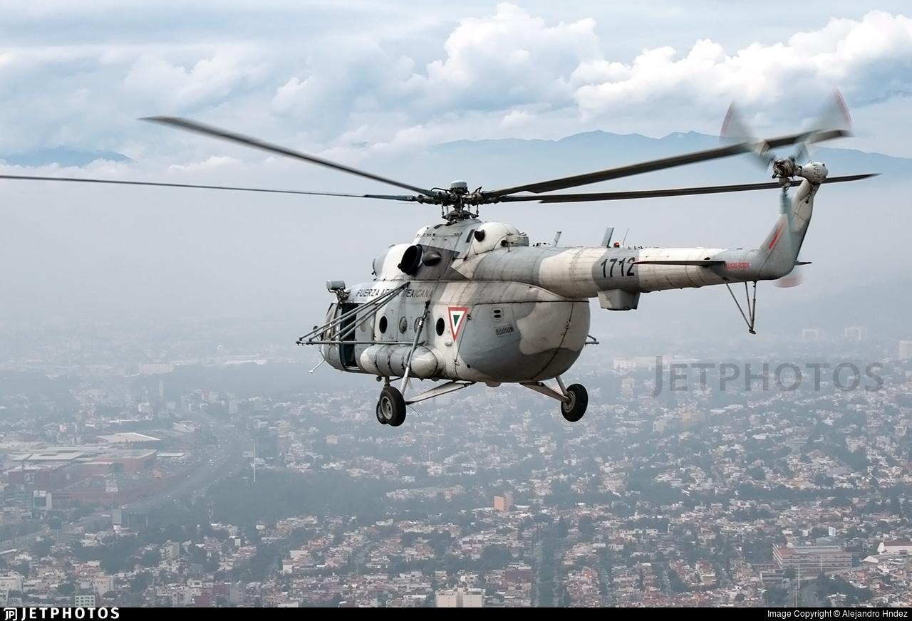 1712 - Mil Mi-17 Hip - Mexico - Air Force