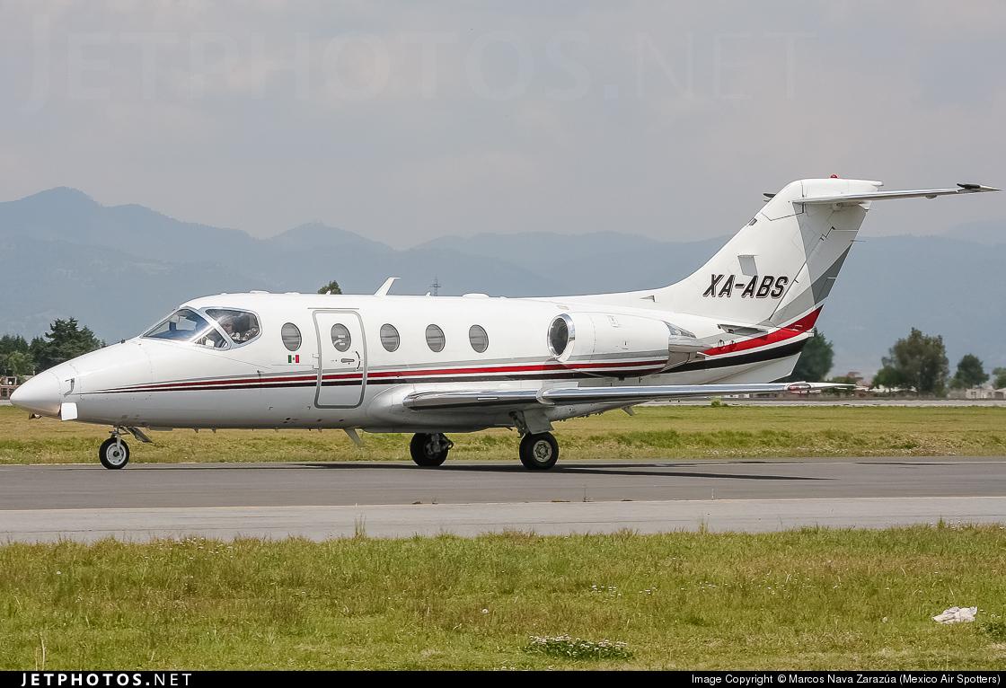 XA-ABS - Beechcraft 400A Beechjet - Aerolineas Ejecutivas