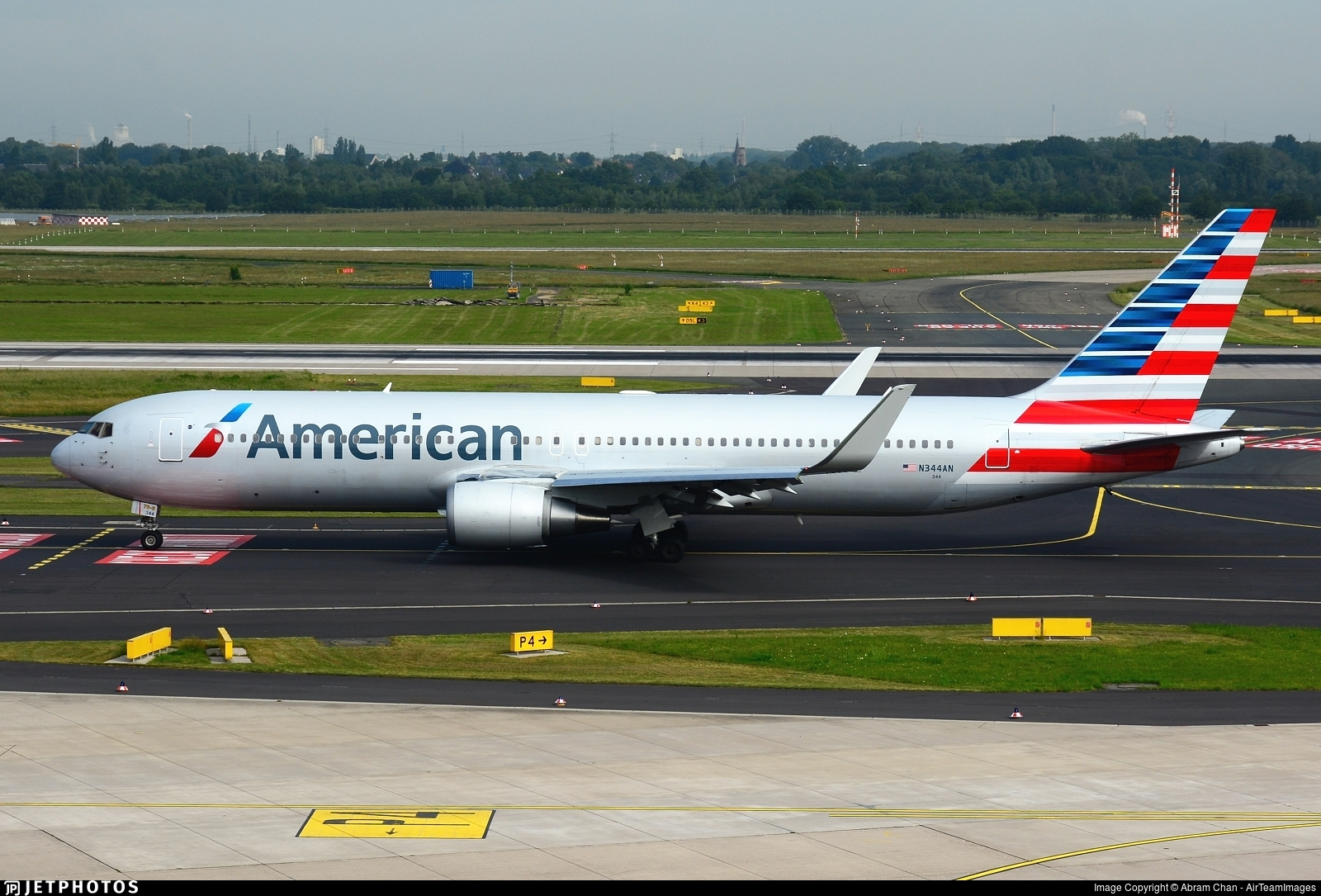 N344AN - Boeing 767-323(ER) - American Airlines