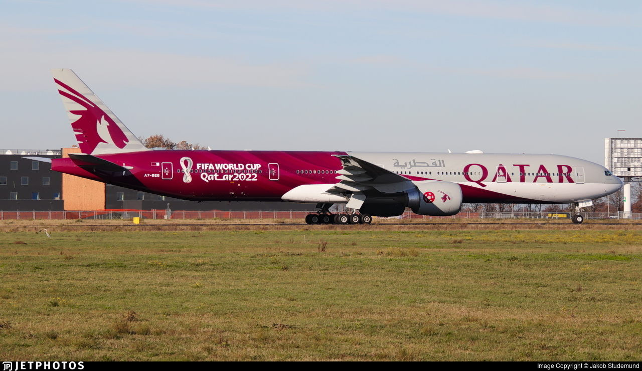 A7-BEB - Boeing 777-3DZER - Qatar Airways