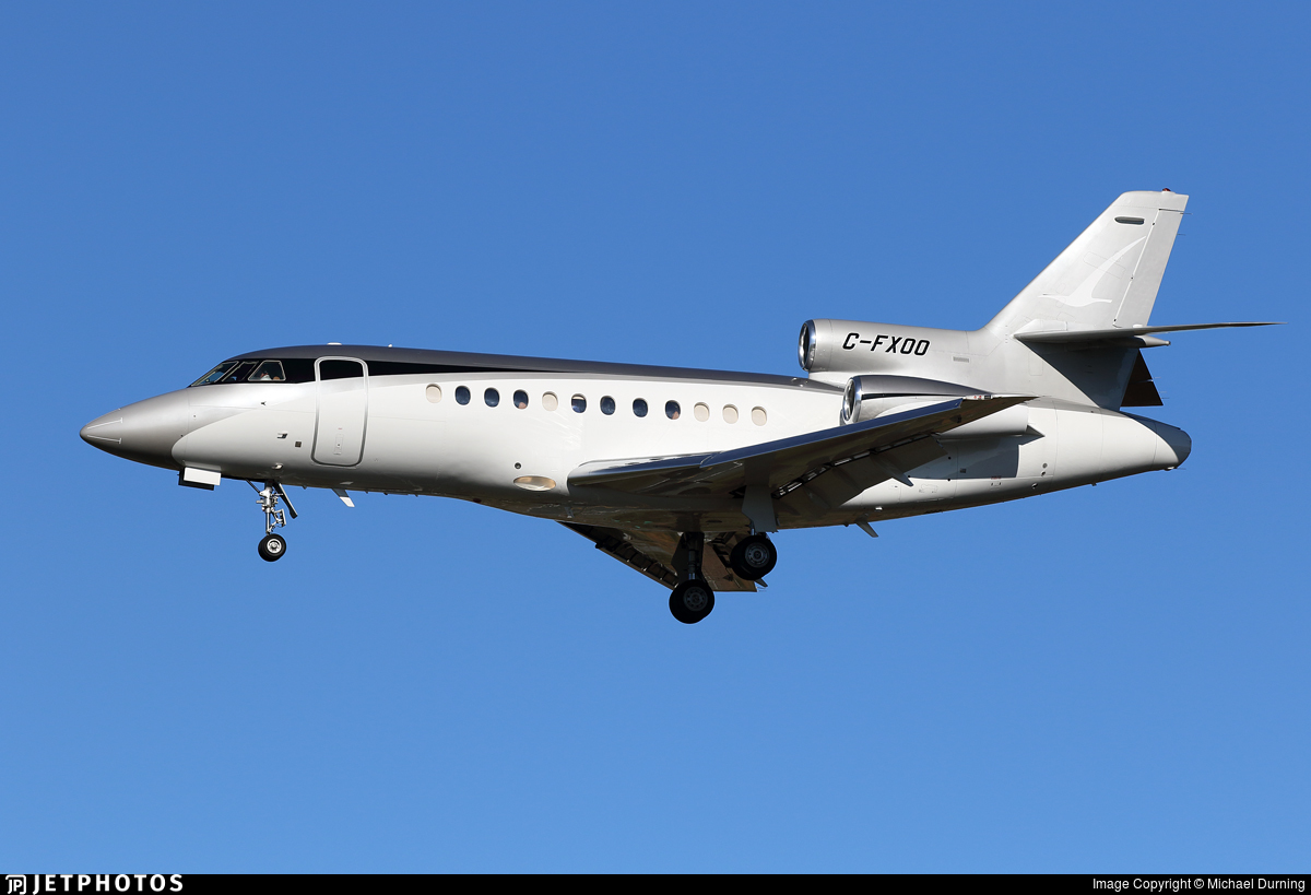 C-FXOO - Dassault Falcon 900 - Novajet