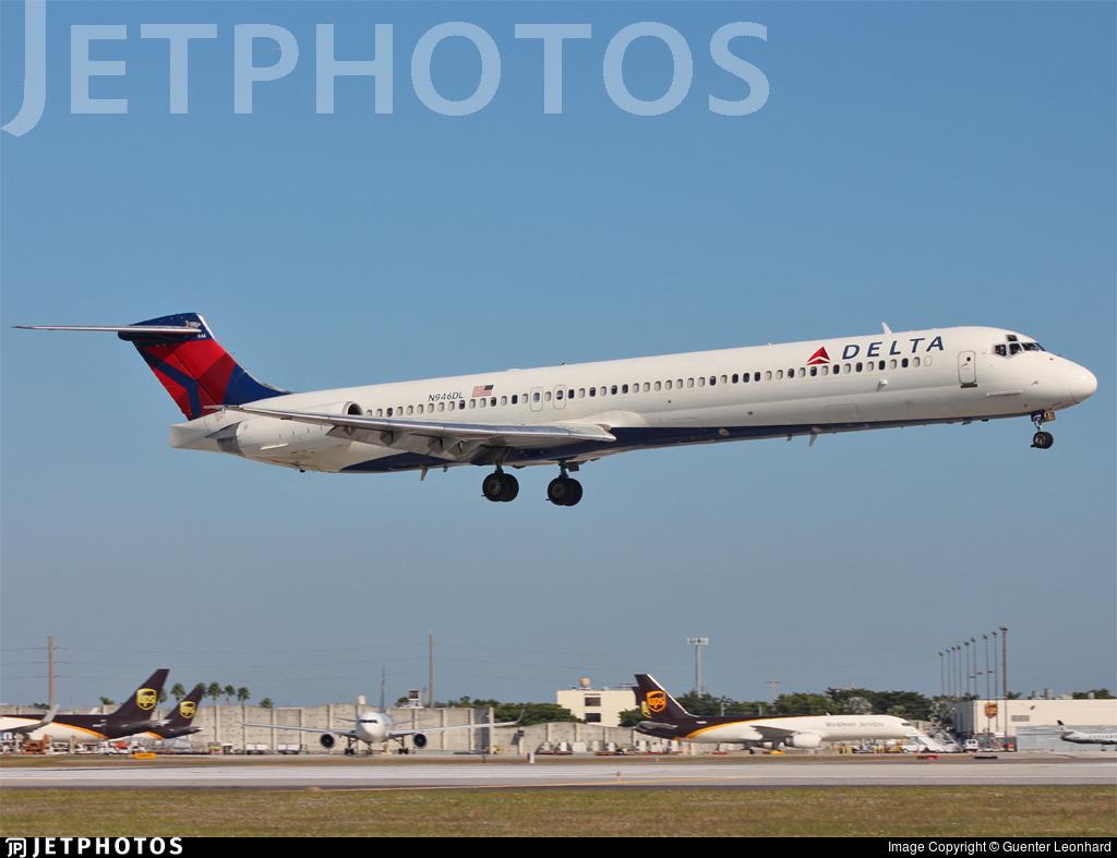N946DL - McDonnell Douglas MD-88 - Delta Air Lines