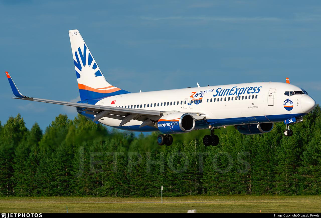 TC-SNZ - Boeing 737-86N - SunExpress