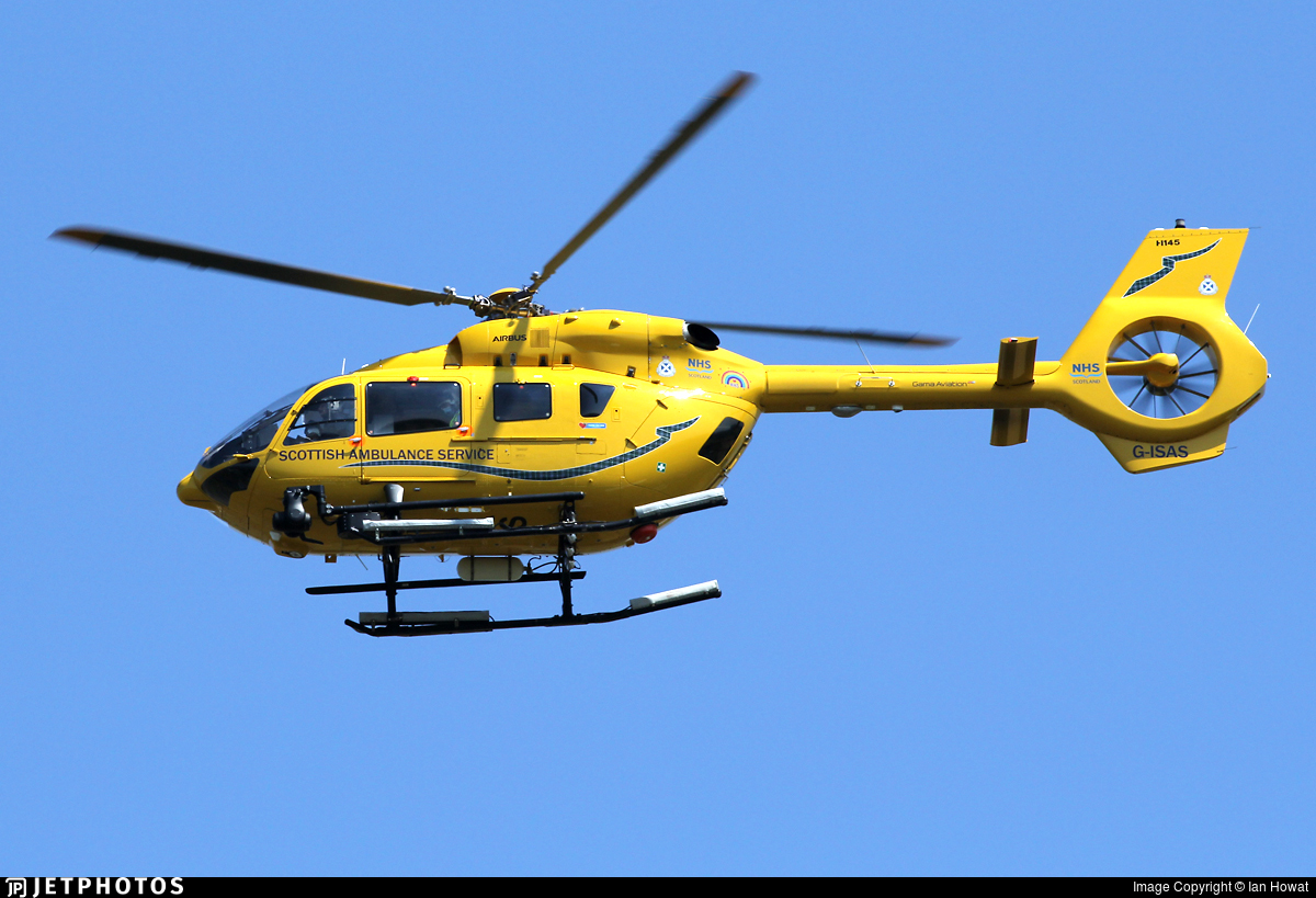G-ISAS - Airbus Helicopters H145 - Gama Aviation