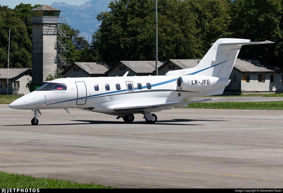 LX-JFG - Pilatus PC-24 - Jetfly Aviation