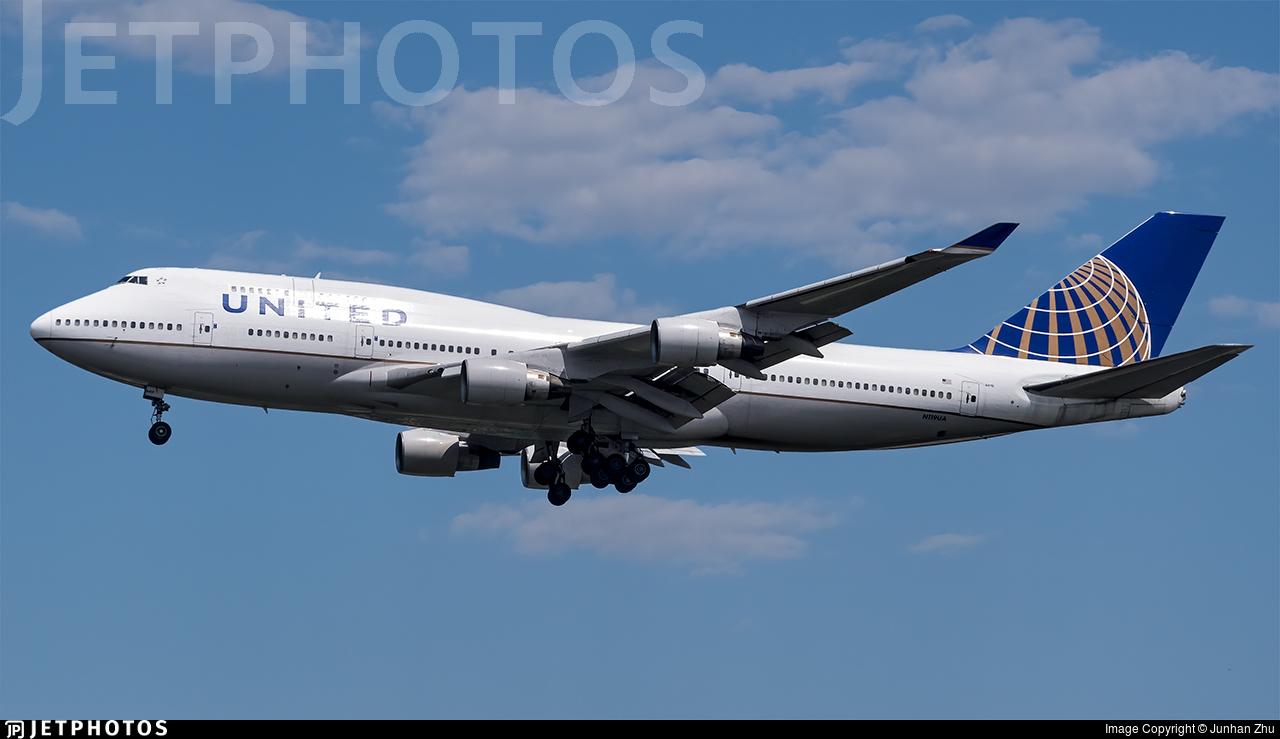 N119UA - Boeing 747-422 - United Airlines