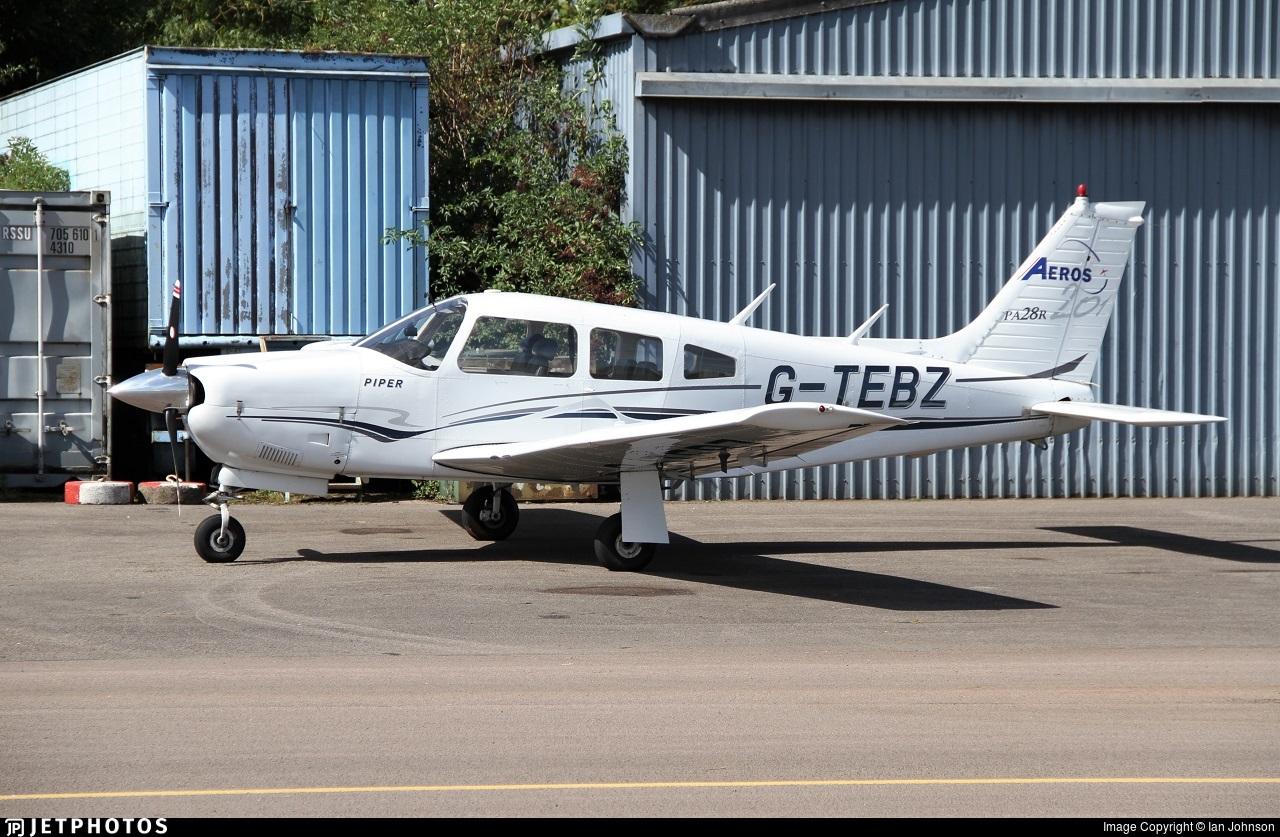 G-TEBZ - Piper PA-28R-201 Cherokee Arrow III - Private