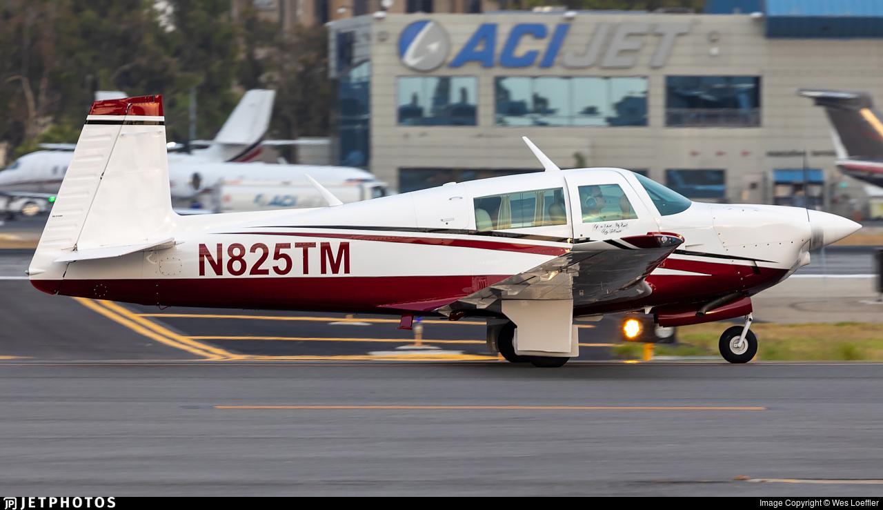 N825TM - Mooney M20J - Private