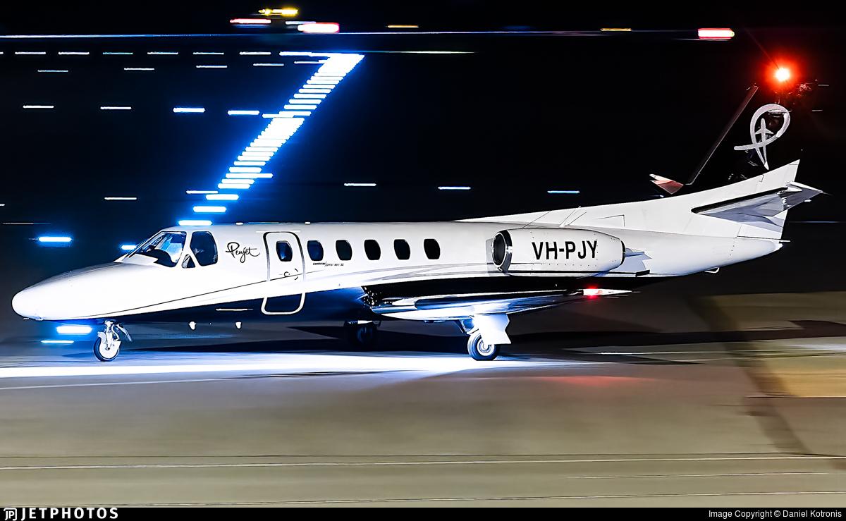 VH-PJY - Cessna 550 Citation II - Penjet