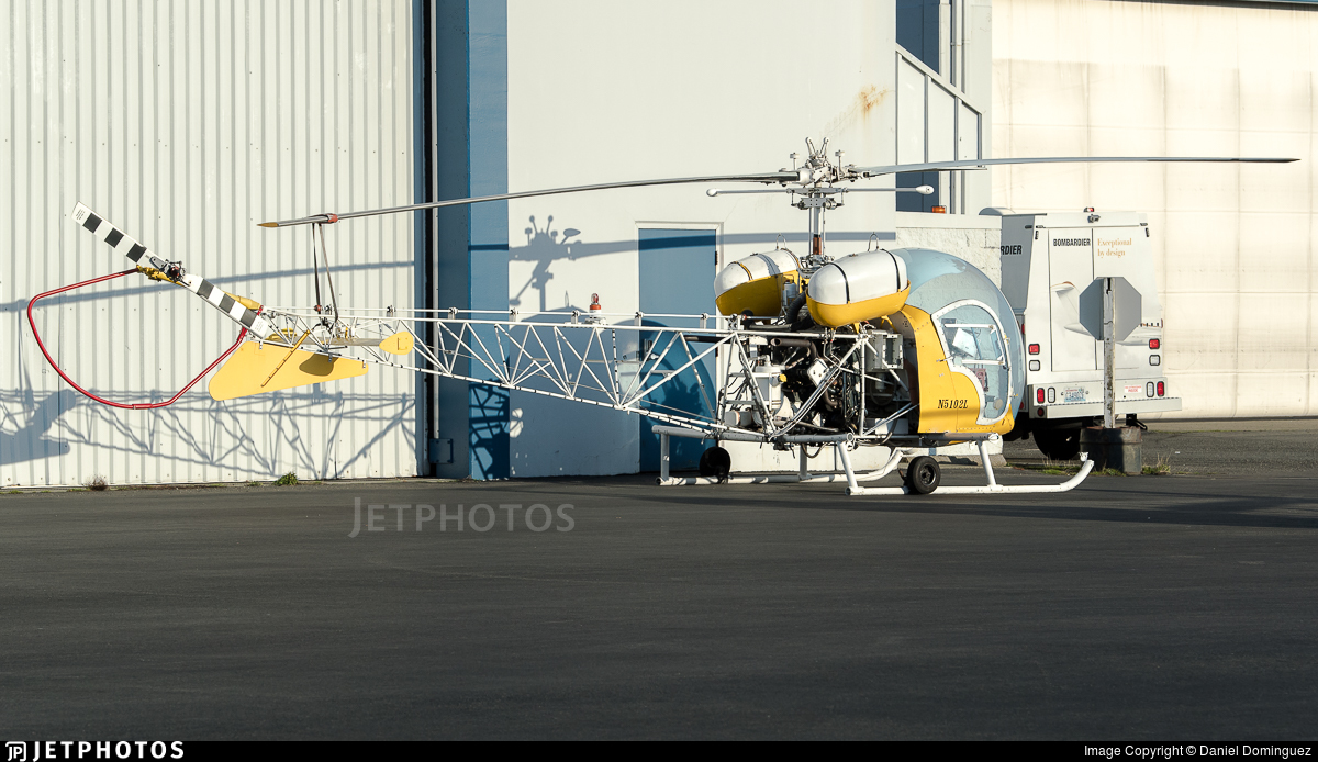 N5102L - Bell 47G-4 - Private