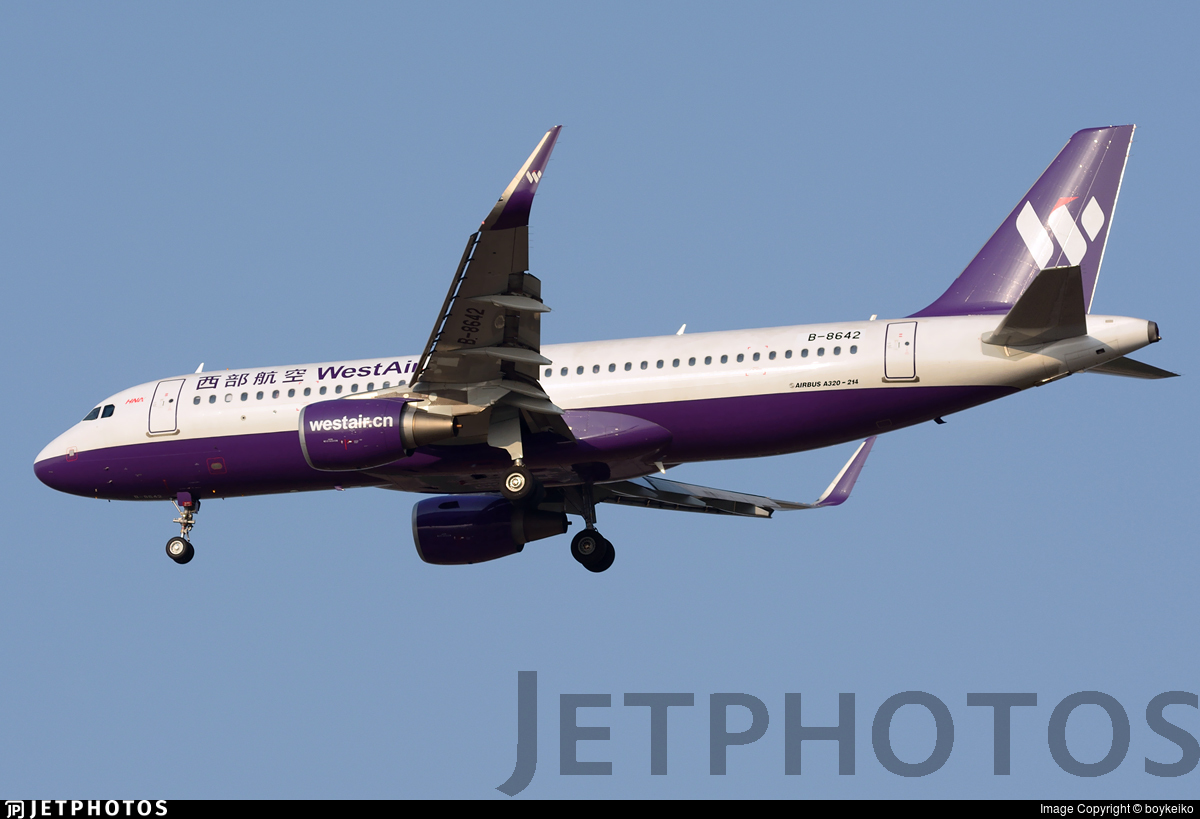 B-8642 - Airbus A320-214 - West Air
