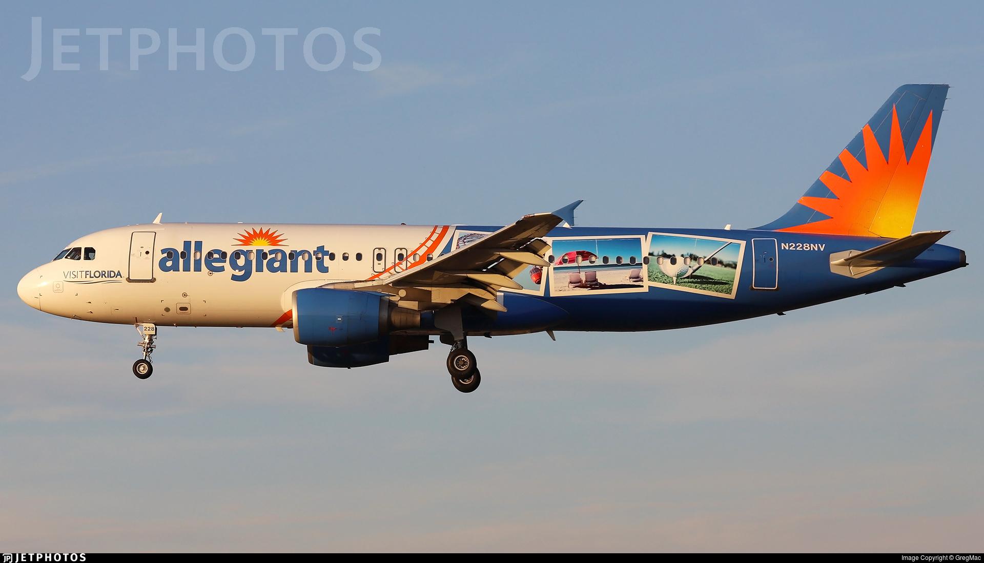 N228NV - Airbus A320-214 - Allegiant Air
