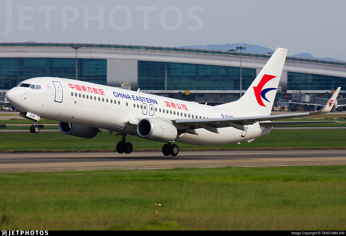 B-6148 - Boeing 737-89P - China Eastern Airlines