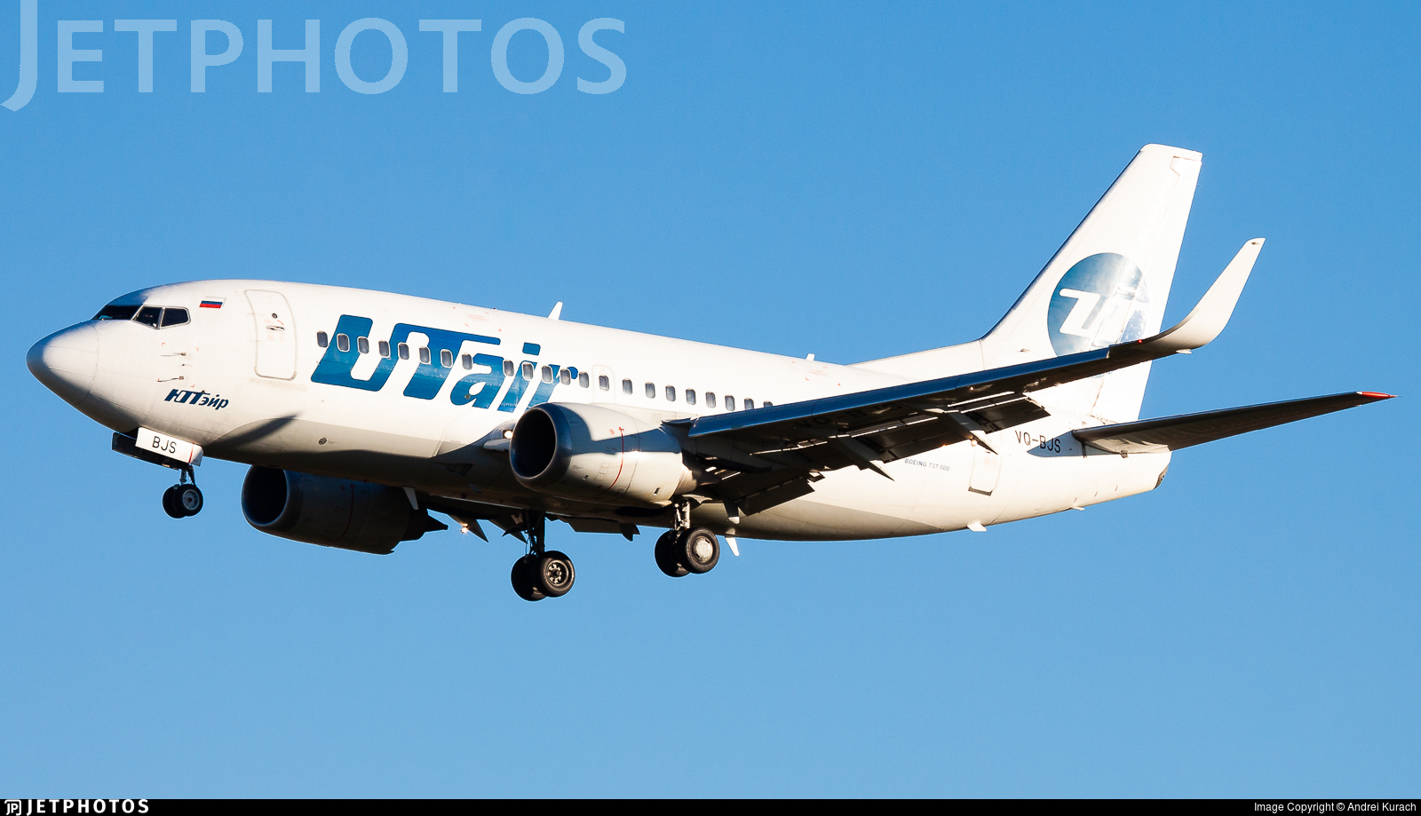 VQ-BJS - Boeing 737-524 - UTair Aviation