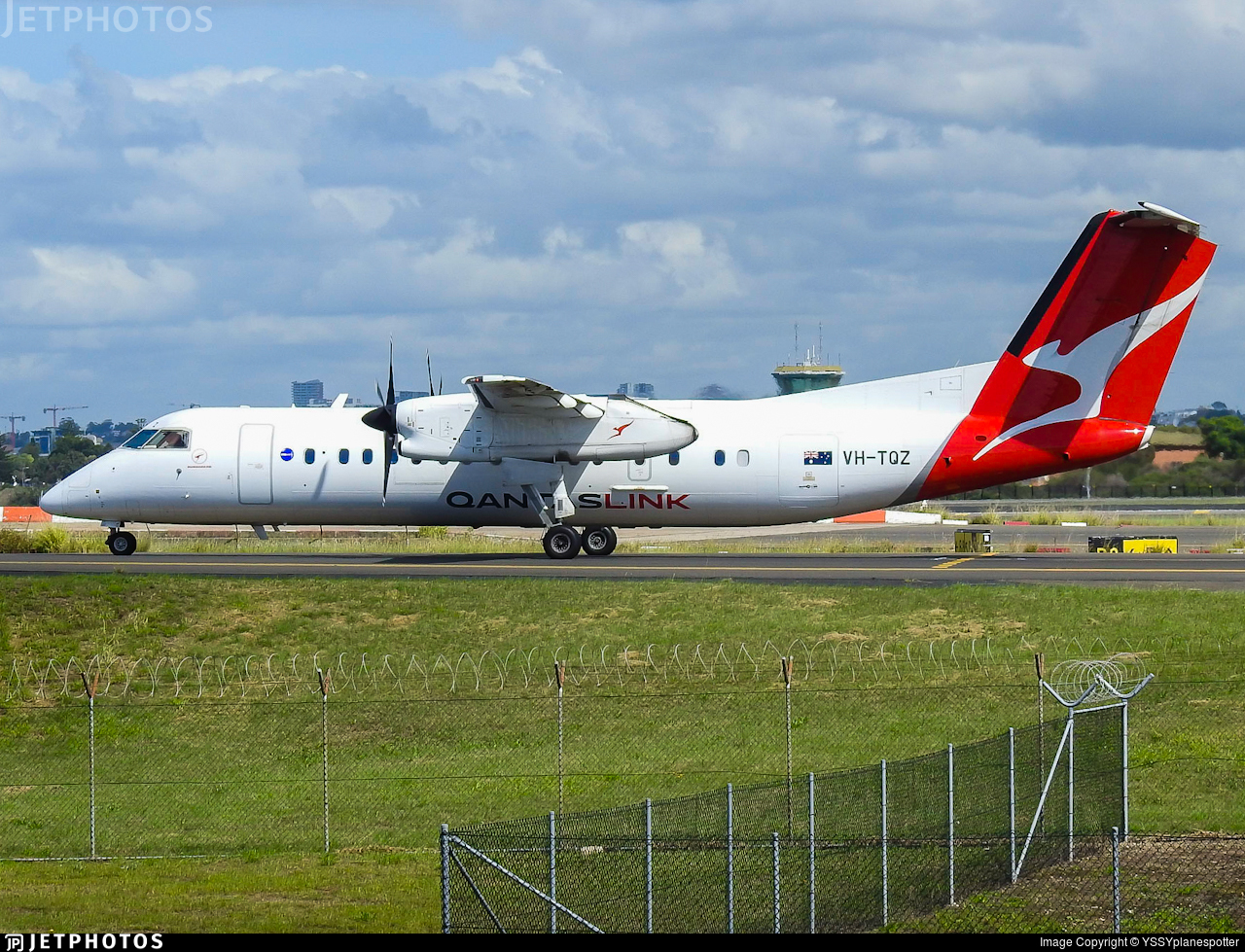 VH-TQZ - Bombardier Dash 8-Q315 - QantasLink (Eastern Australia Airlines)