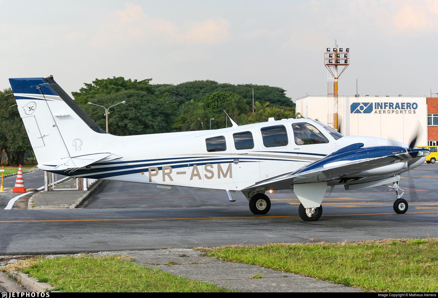 PR-ASM - Beechcraft G58 Baron - Private