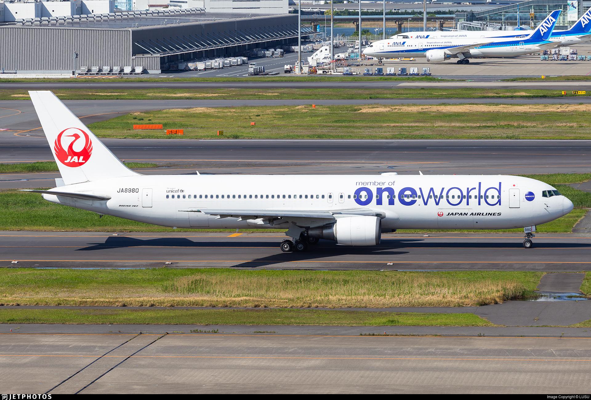 JA8980 - Boeing 767-346 - Japan Airlines (JAL)