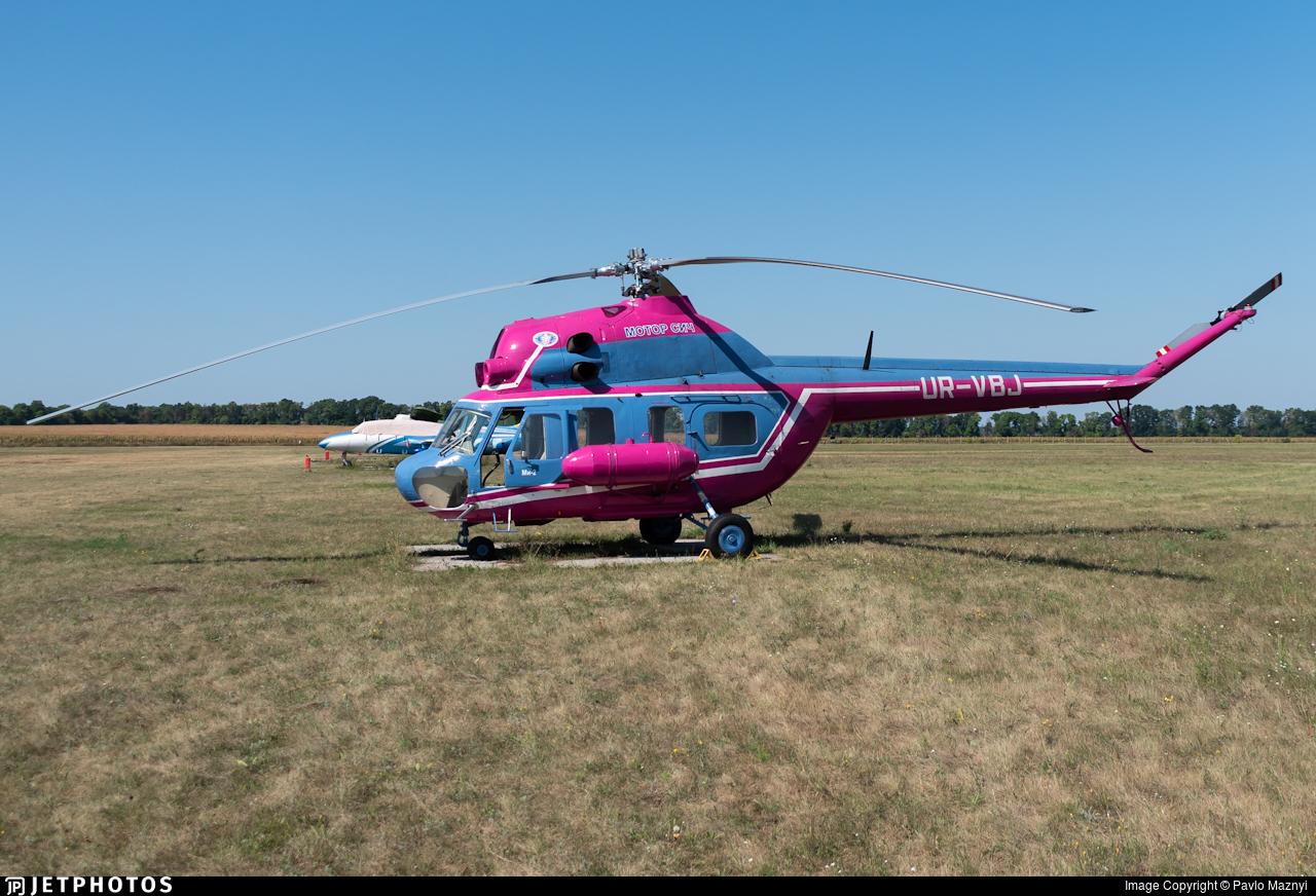 UR-VBJ - PZL-Swidnik Mi-2MSB - Motor Sich Airlines