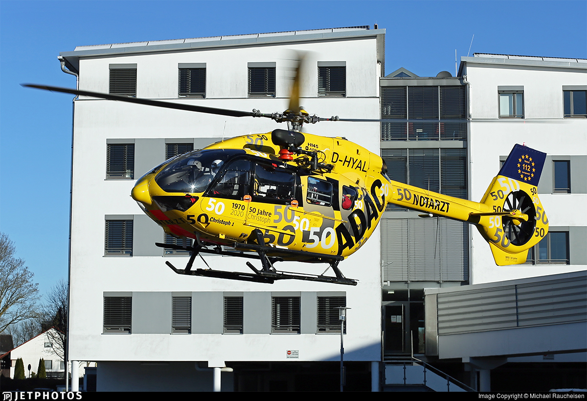 D-HYAL - Airbus Helicopters H145 - ADAC Luftrettung
