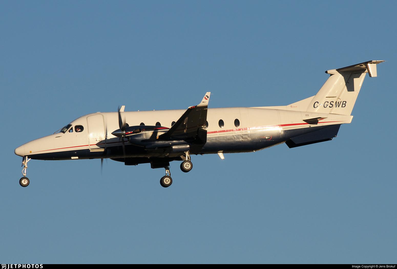C-GSWB - Beech 1900D - Sunwest Aviation