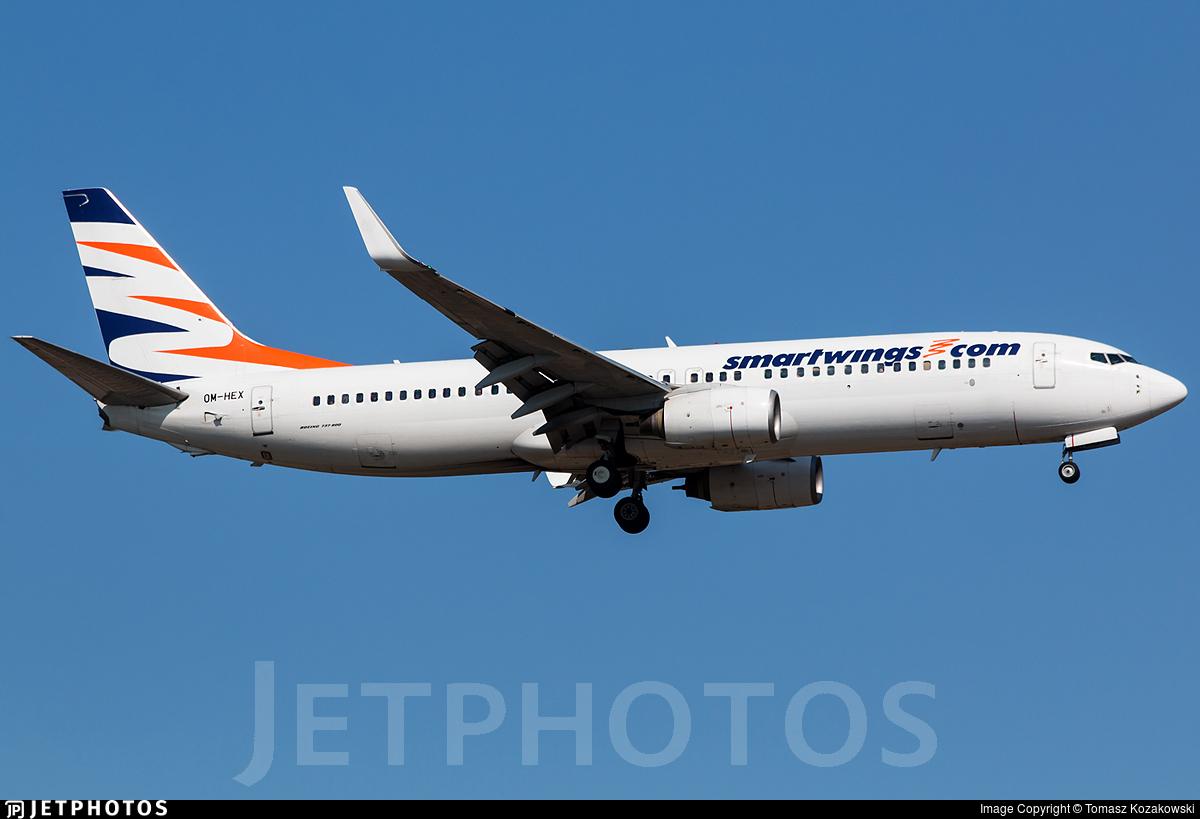 OM-HEX - Boeing 737-81Q - SmartWings (Air Explore)