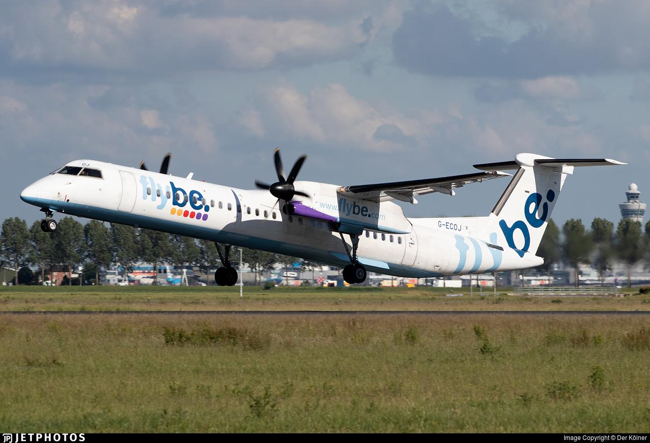 G-ECOJ - Bombardier Dash 8-Q402 - Flybe