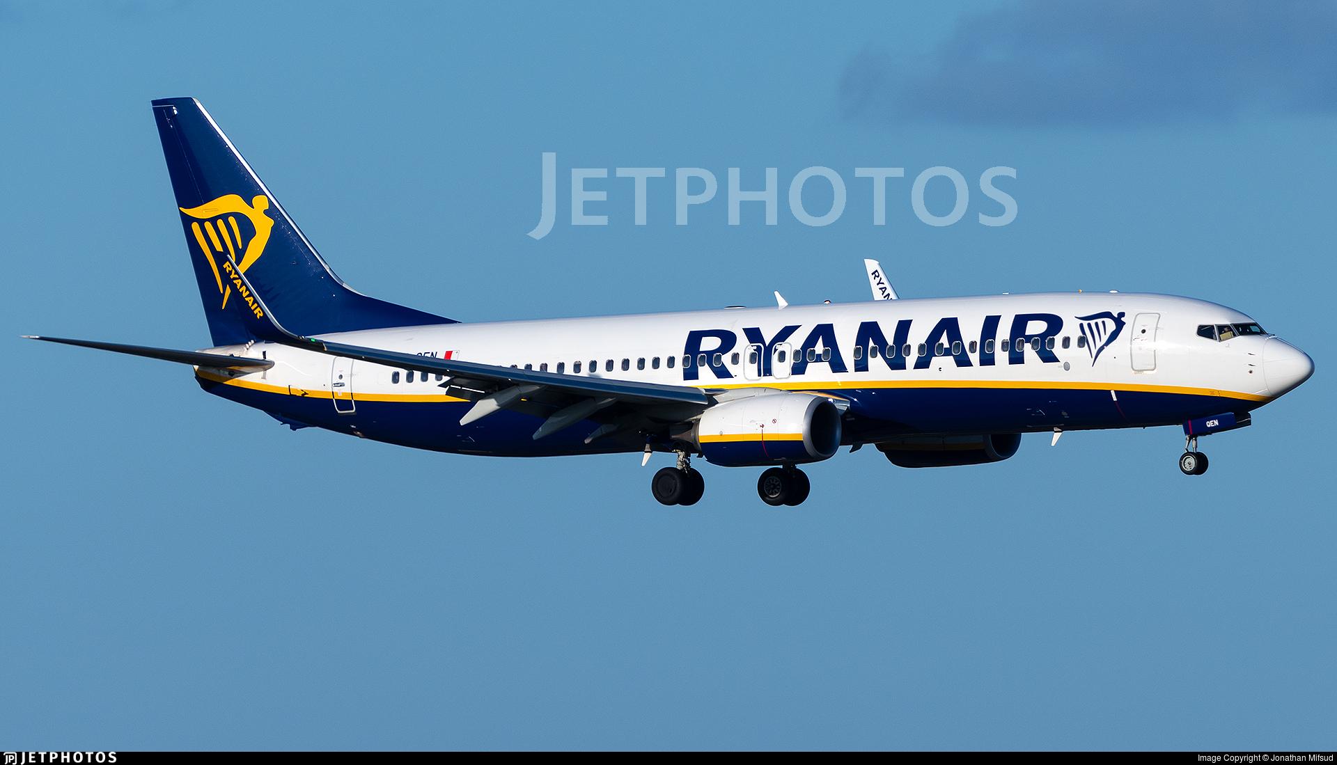 9H-QEN - Boeing 737-8AS - Ryanair (Malta Air)