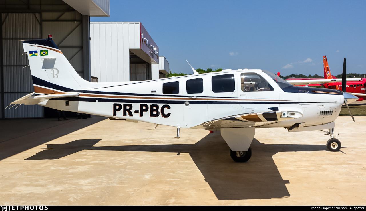 PR-PBC - Beechcraft G36 Bonanza - Private